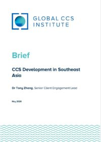 Brief – CCS Development in Southeast Asia