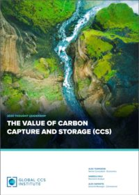 2020 THOUGHT LEADERSHIP : The Value of Carbon Capture and Storage (CCS)