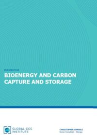 Bioenergy and Carbon Capture and Storage