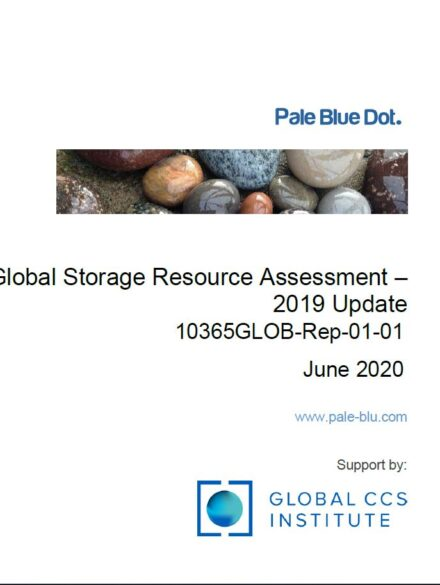 Global Storage Resource Assessment 2020