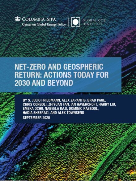 Net-Zero and Geospheric Return: Actions Today for 2030 and Beyond