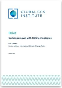 Carbon Removal with CCS Technologies