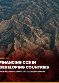 Financing CCS in Developing Countries