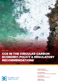 CCS in the Circular Carbon Economy: Policy and Regulatory Recommendations