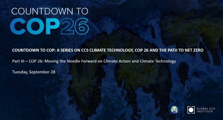 COP 26: Moving the Needle Forward on Climate Action and Climate Technology